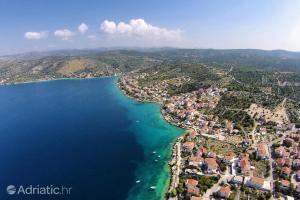 A bird's-eye view of Vila Matej