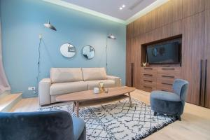 A seating area at Dreamyflat residence