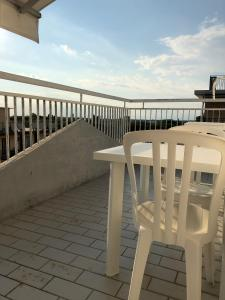 A balcony or terrace at Residence Moresco