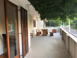A balcony or terrace at Apartment Bura