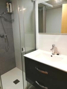 A bathroom at Casa Castillo de la Estrella
