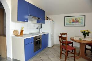 Kuhinja oz. manjša kuhinja v nastanitvi Apartman Branka