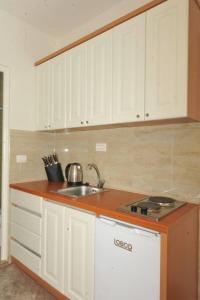 A kitchen or kitchenette at Apartments Olive