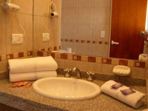 Un baño de Posada El Jarillal
