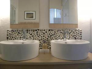A bathroom at Appartement Bel Air