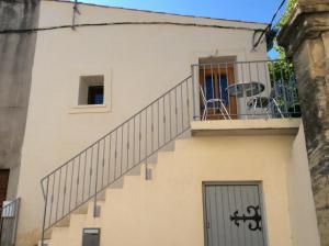 Balcon ou terrasse dans l'établissement La Maison d'Estelle