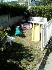 Area permainan anak di La Crielloise