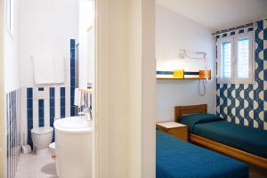A bathroom at Residence Hotel Iselba
