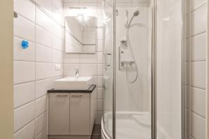 A bathroom at Leonetto