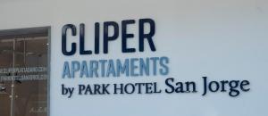 Logo atau tanda untuk apartmen