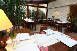 A restaurant or other place to eat at U Adama