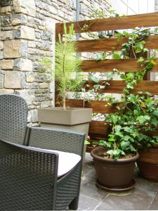 A balcony or terrace at Aparthotel Casa Vella