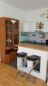 Küche/Küchenzeile in der Unterkunft Apartment Karin