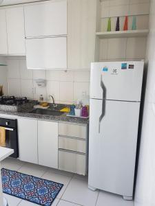 Kuchyň nebo kuchyňský kout v ubytování Riviera Boa Viagem