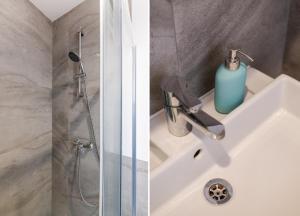 Ванная комната в Apartament w sercu miasta