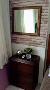 A bathroom at Flat Recife