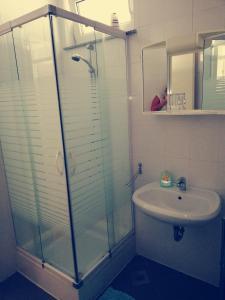 A bathroom at Apartment Lent