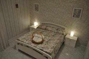 Letto o letti in una camera di La casetta di Amélie