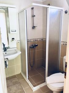 Vonios kambarys apgyvendinimo įstaigoje Dove Apart Hotel