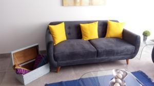 Zona de estar de Cusco Cozy Apartment