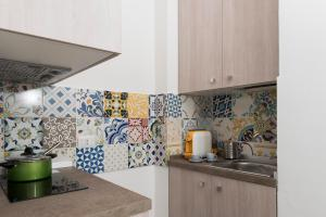 A kitchen or kitchenette at Casa Taiani Amalfi Coast