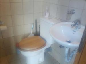 A bathroom at Prines Extra
