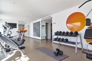 Sporto salė apgyvendinimo įstaigoje Ibiza Sun Apartments