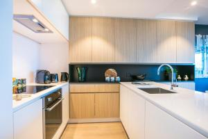A kitchen or kitchenette at Quest Flemington Central