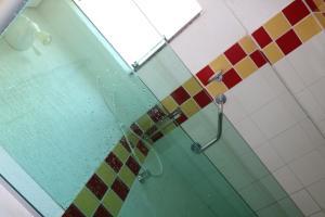 A bathroom at Flat Cezar's Park