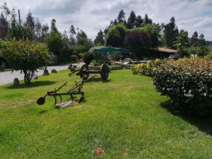 A garden outside Quintinha do Monte
