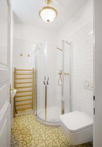 Salle de bains dans l'établissement Manesova No.5 Apartments