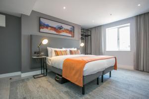 Krevet ili kreveti u jedinici u okviru objekta Grafton Street Studios