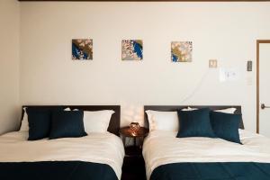京町家 咲にあるベッド