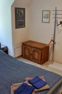 Кровать или кровати в номере Simpli Apartments
