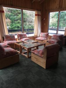 Un lugar para sentarse en Merihue