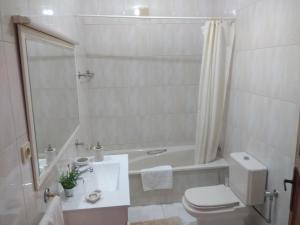 Uma casa de banho em Apartamento Soares