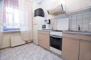 Кухня или мини-кухня в Nice Flats Smolenskaya