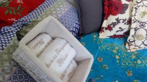 A bed or beds in a room at Cobertura Master Frente Mar com três quartos na Praia dos Milionários