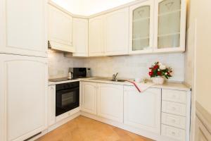 Kuhinja oz. manjša kuhinja v nastanitvi Palazzo Gentili