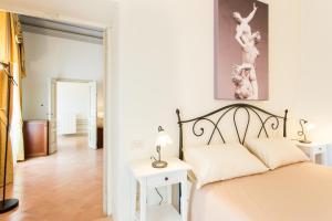 Palazzo Gentili房間的床