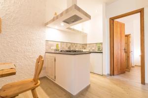 Cucina o angolo cottura di Residence Serra La Nave