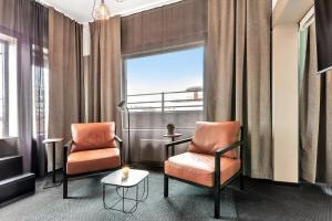 Część wypoczynkowa w obiekcie Forenom Aparthotel Oslo