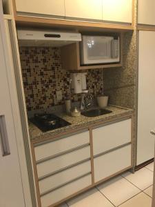 A kitchen or kitchenette at Espaço Villa Verde