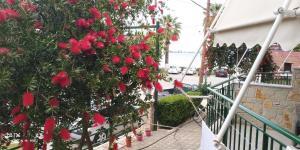 A balcony or terrace at Lerna Rooms