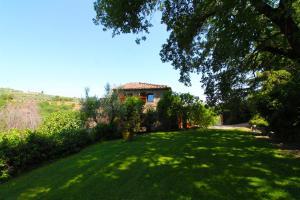 A garden outside Villa Gioiosa