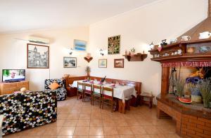 Restaurace v ubytování Nadia's house