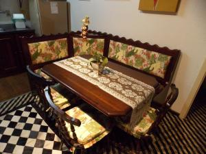 Khu vực ghế ngồi tại Casa para 4 pessoas - Canela - Caracol