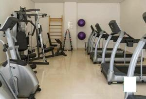 The fitness center and/or fitness facilities at Studio Itaipava