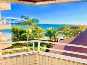 Un balcón o terraza de Apart Hotel Villa de Vincenzi