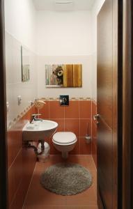 Koupelna v ubytování Soul Dance Apartments
